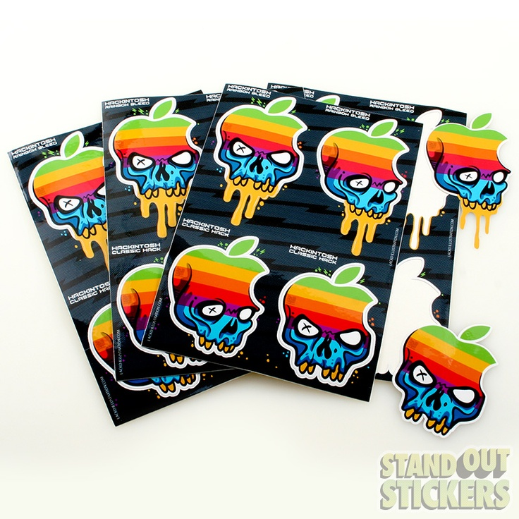 Order multiple kiss cuts on your sticker design to make a sheet of custom  stickers.