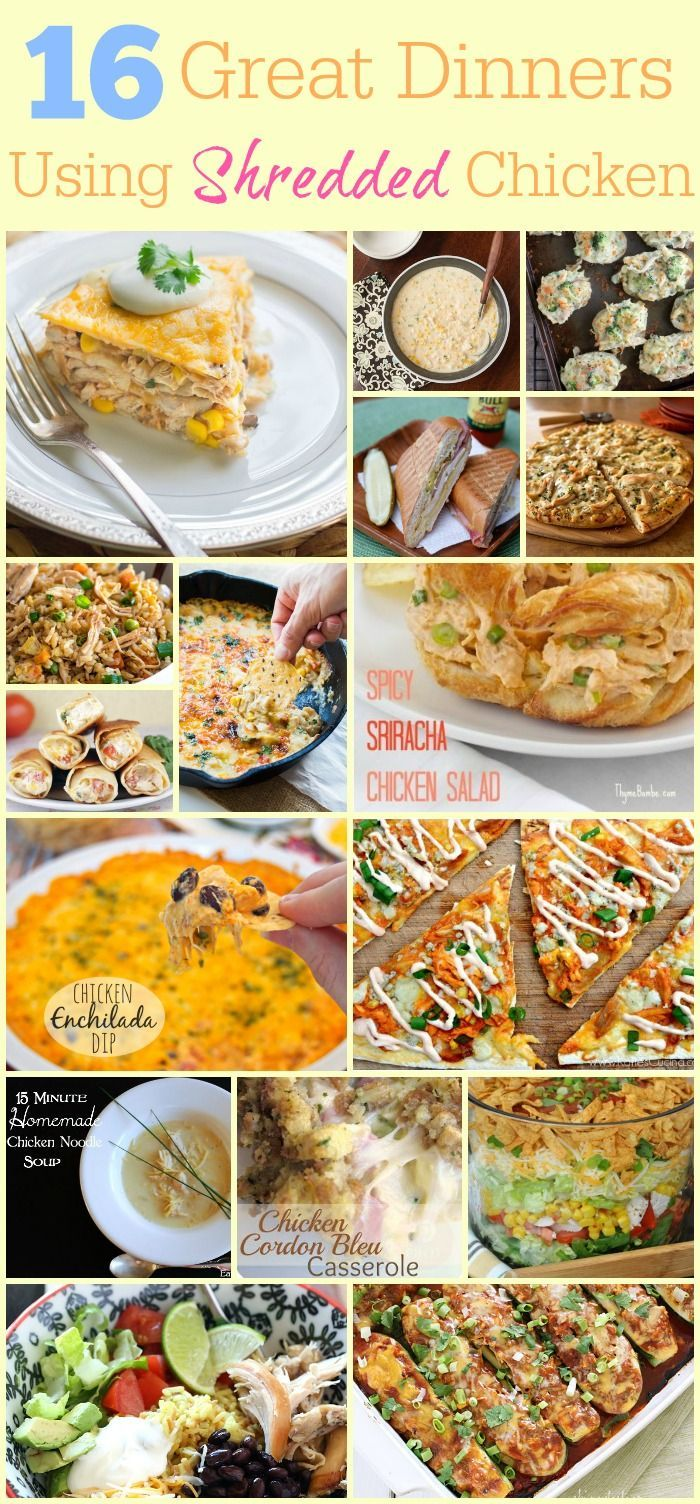 75 best mending the piggy bank pins images on pinterest piggy 16 shredded chicken recipes 16 great dinners using shredded chicken chicken dinner forumfinder Gallery