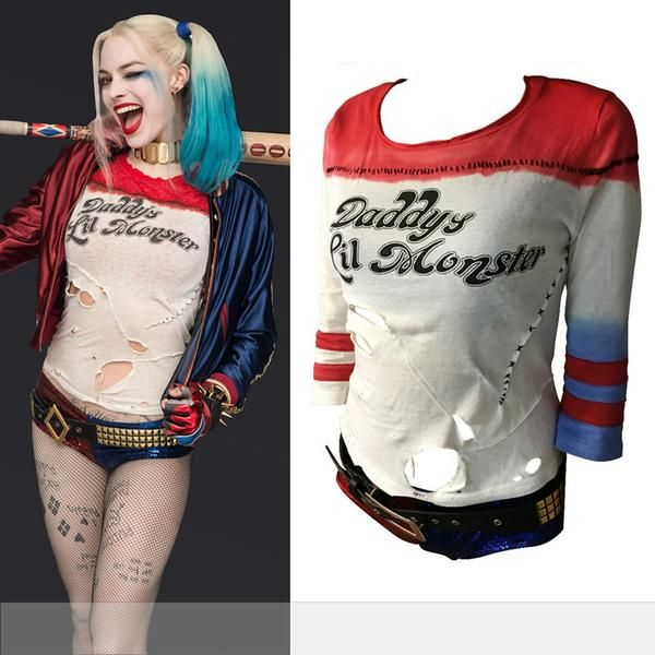 From the Movie Suicide SquadHarley Quinn's Daddy's lil Monster Cosplay…