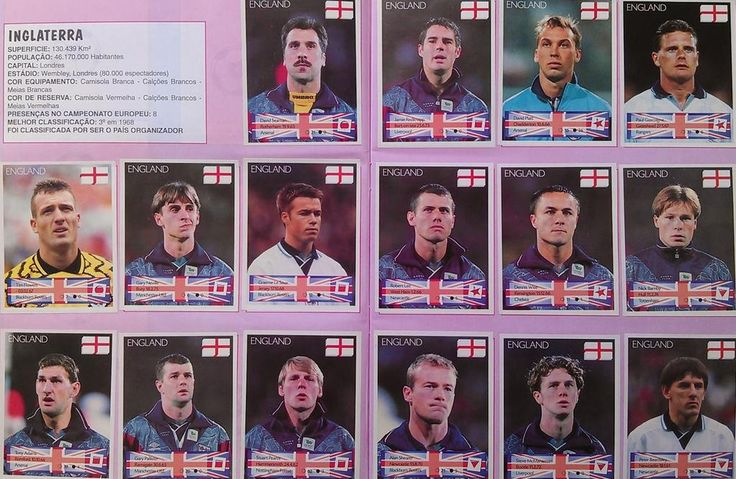 The England 1996 squad
