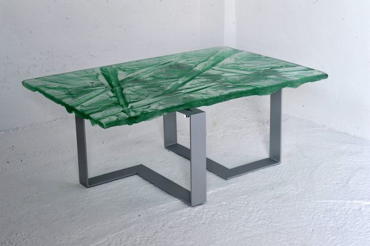 Archiglass Applied Arts Glass Table Stolik Szklany