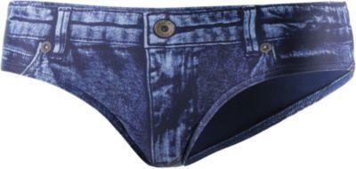 #GUESS #Bikini #Hosen #Damen #jeansblau -