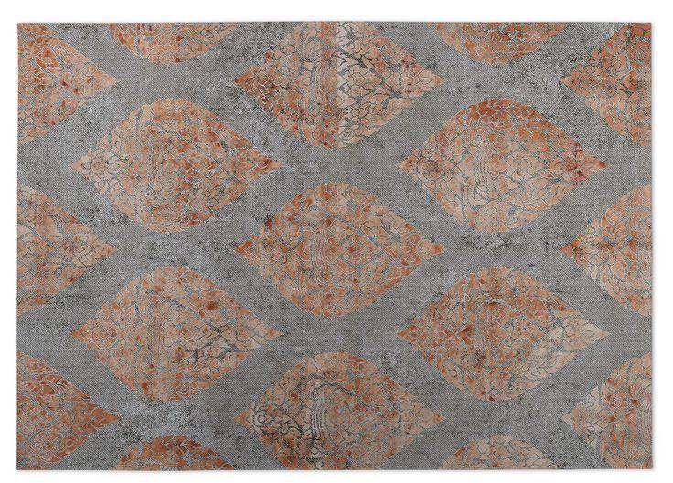 Ascent Gray/Brown Indoor/Outdoor Doormat