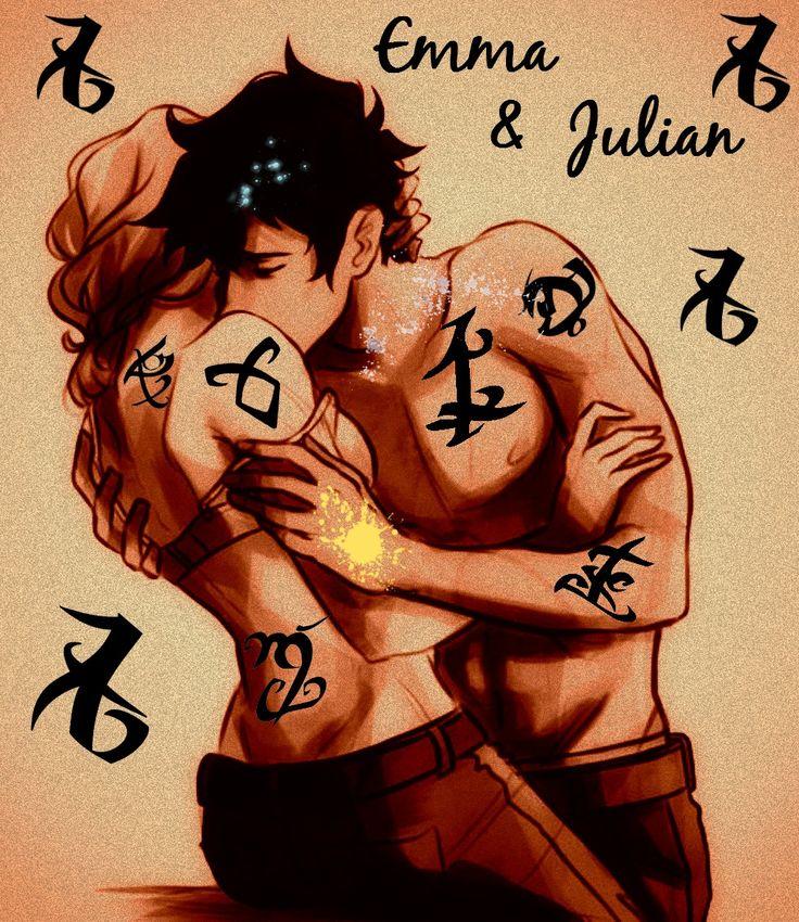 Emma & Julian. Oh my god my heart