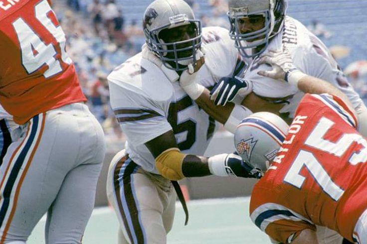 John Corker/LB/Michigan Panthers American football