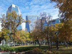 Regina is the Capital of Saskatchewan- Victoria Park, Regina