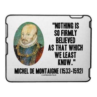 michel de montaigne essays summary Renaissance history: essays of michel de montaigne, his philosophy forwarding home assignment for the montaigne essays summary duration of their year degree.