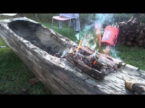 Angel Mounds - Native American Days - Dugout Canoe - YouTube