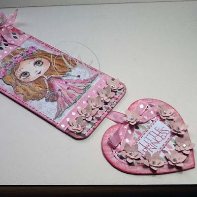 Just Christine's Creations: Princess door hanger ..Project for Julia Spiri Stamos DT
