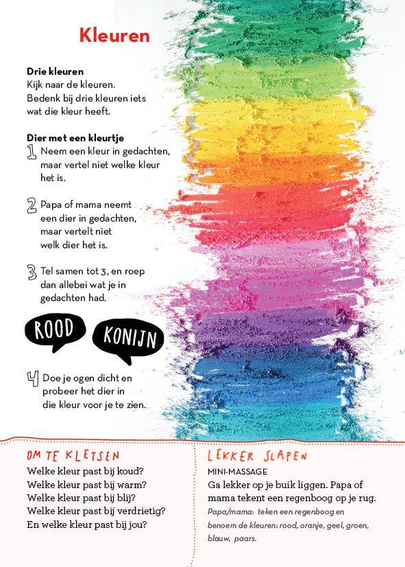 Kleuren - uit Slaapklets! voor kleuters #gezinnig