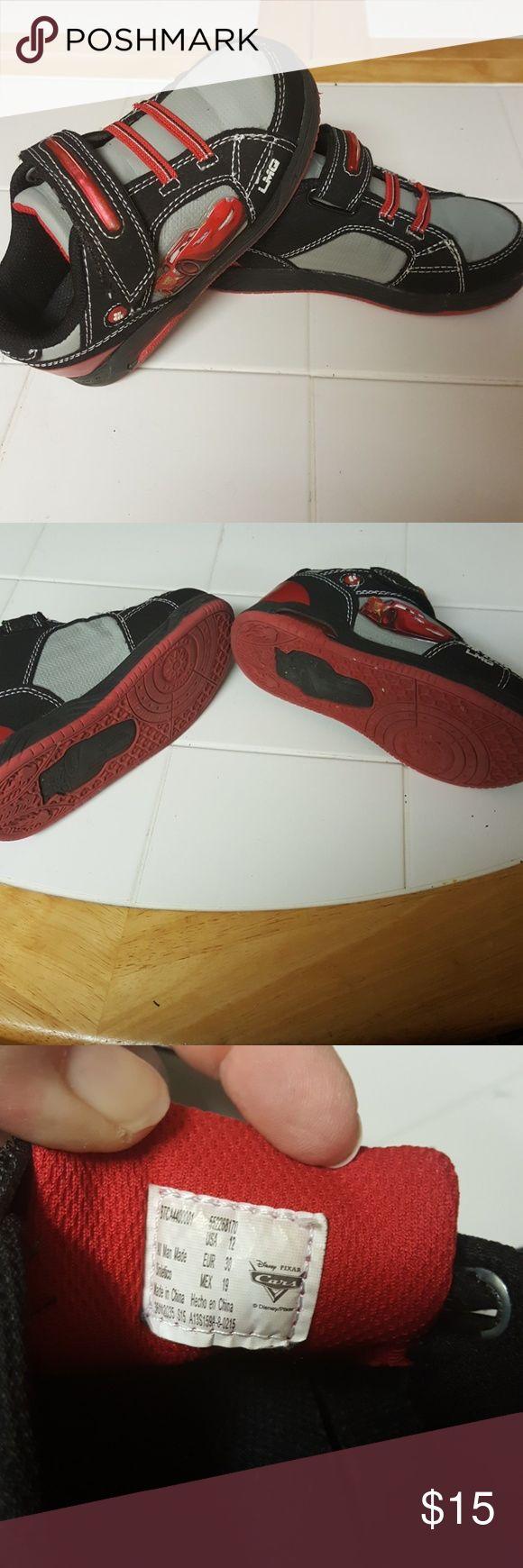 Kids size 12 cars shoes Kids size 12 Cars shoes cars Shoes Sneakers