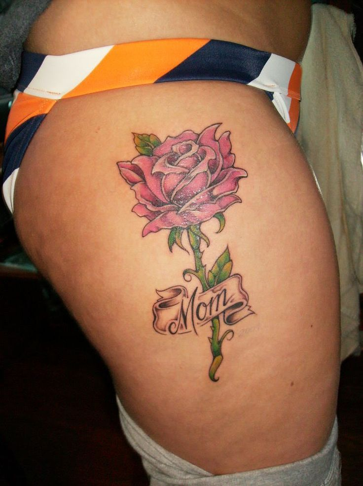 In Loving Memory Mom Tattoos | Pin My Tattoo Rip Mom Picture By ...