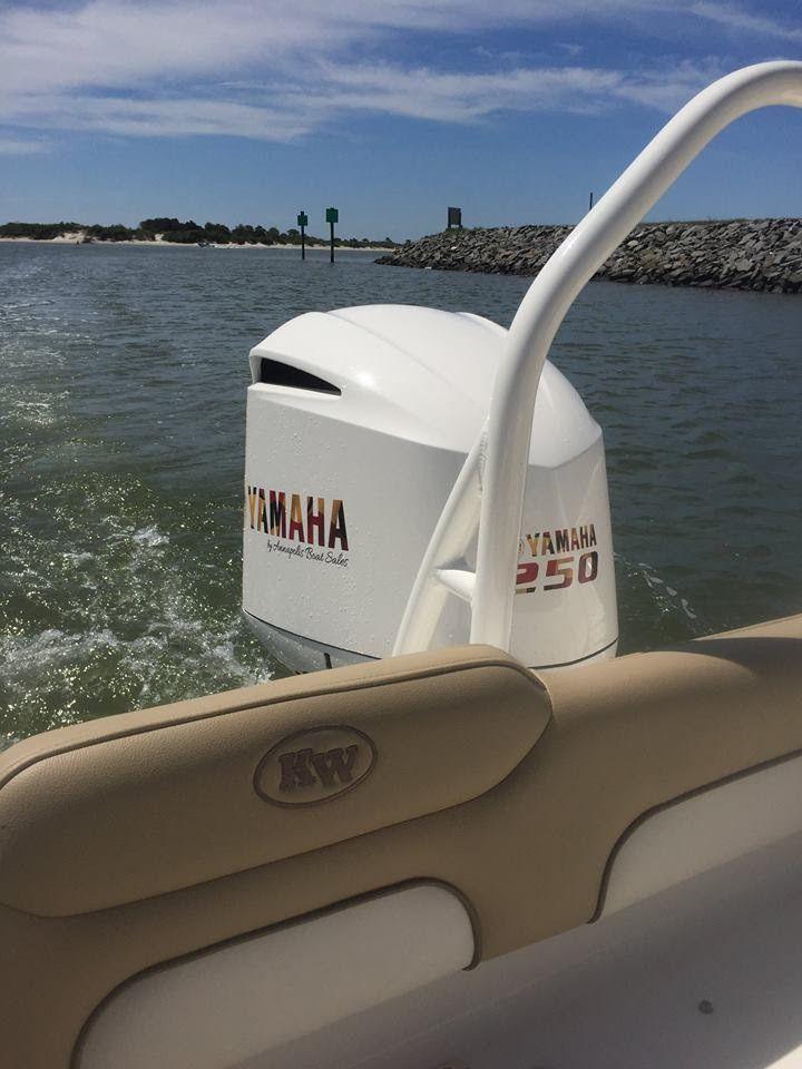 Yamaha Engine Decals- Maryland Flag