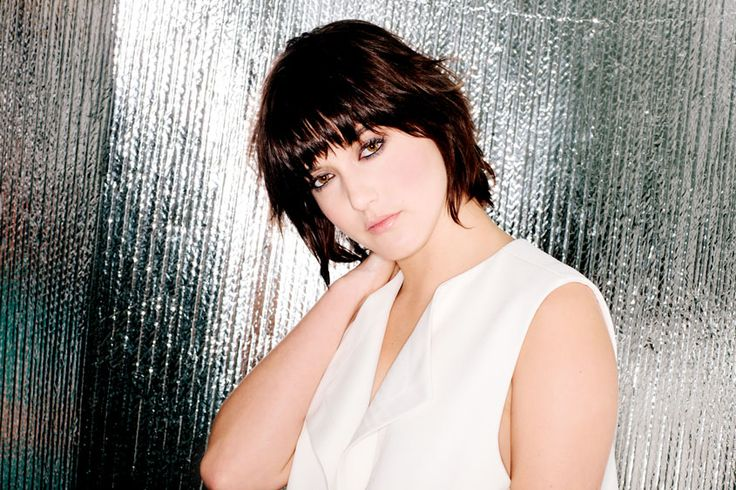 I want her haircut. And her green eyes but I settle for the hair cut