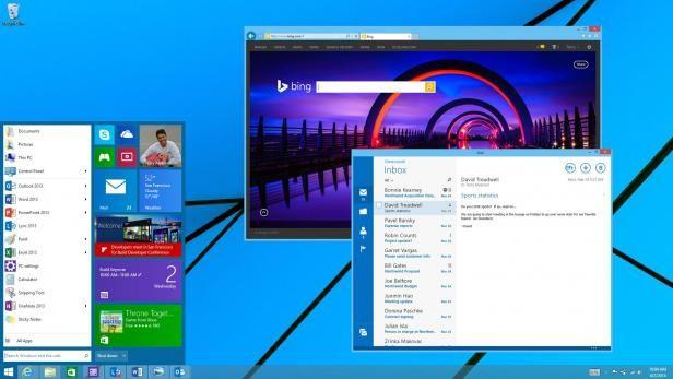 Windows 8.1 : le menu Démarrer reviendra dans une prochaine mise à jour, les applications Modern UI pourront s'exécuter dans une fenêtre du ...