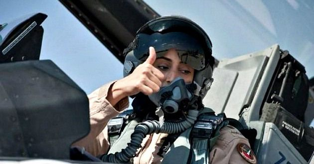 BOOM! Meet the BADASS Woman Who Just Dropped Tons of Death on ISIS http://madworldnews.com/woman-dropped-death-isis/ I like this woman.