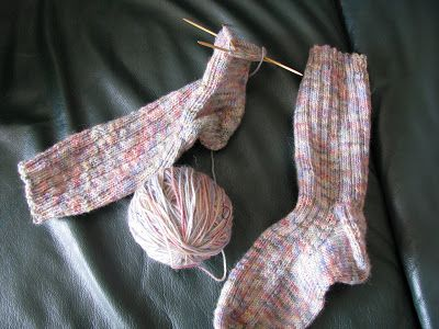 Or... at least, my favourite sock pattern :) This is the pattern I use for almost all of my socks. It is easy to follow, and fits snuggly a...