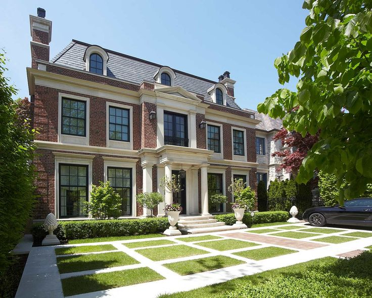 Architectural Decoration House Luxury Homes With Modern Style Interior Designers Design Comes Nine Glass Windows Of The Doors In Front And Two Garden Flower Pots Chimneys of Modern Architectural Home Styles  from Exterior Ideas