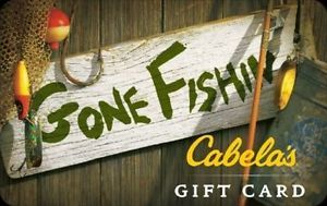 $50 Cabela's Gift Card and get a bonus $10! ($60 Value)