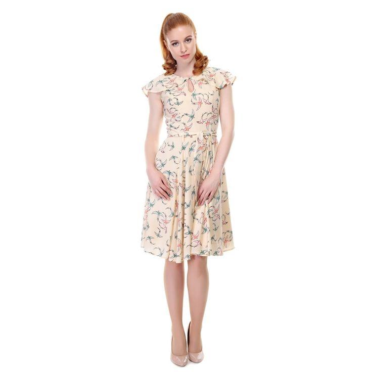 Tamara Swallow Swing Dress