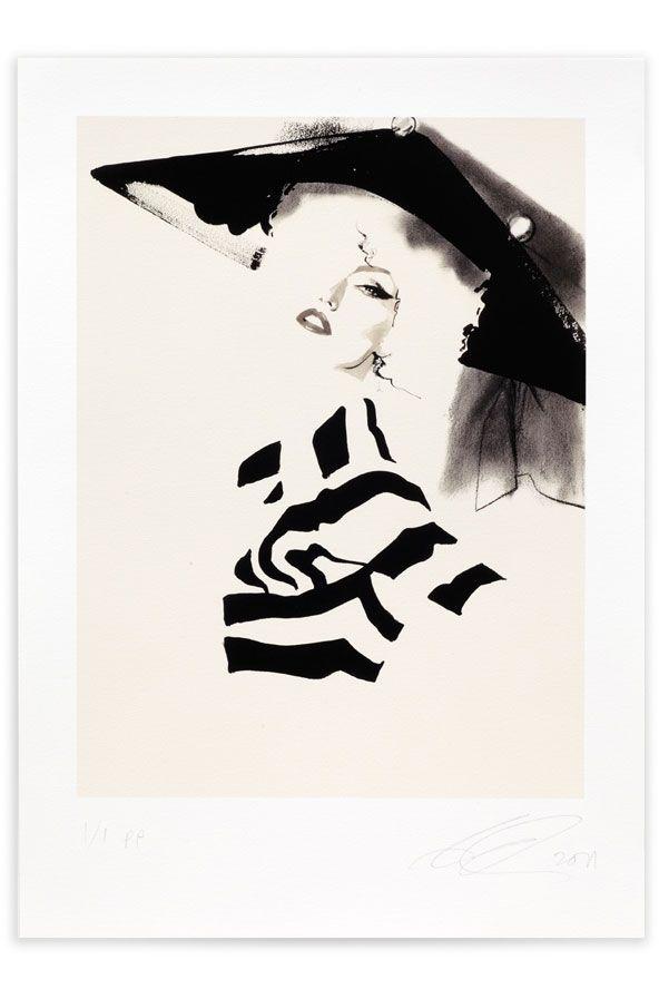 Expand  David Downton  Dior Couture AW 2009