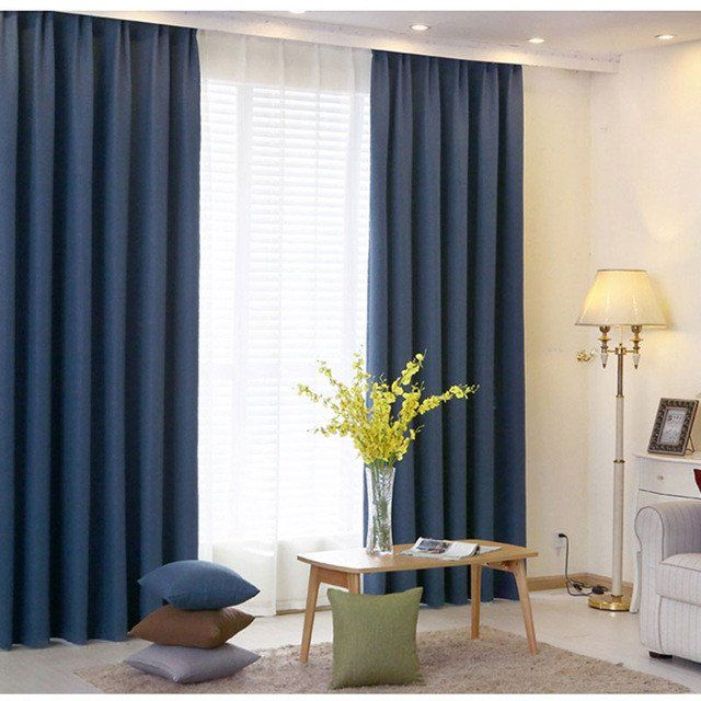 30 Curtain Colours For Living Room