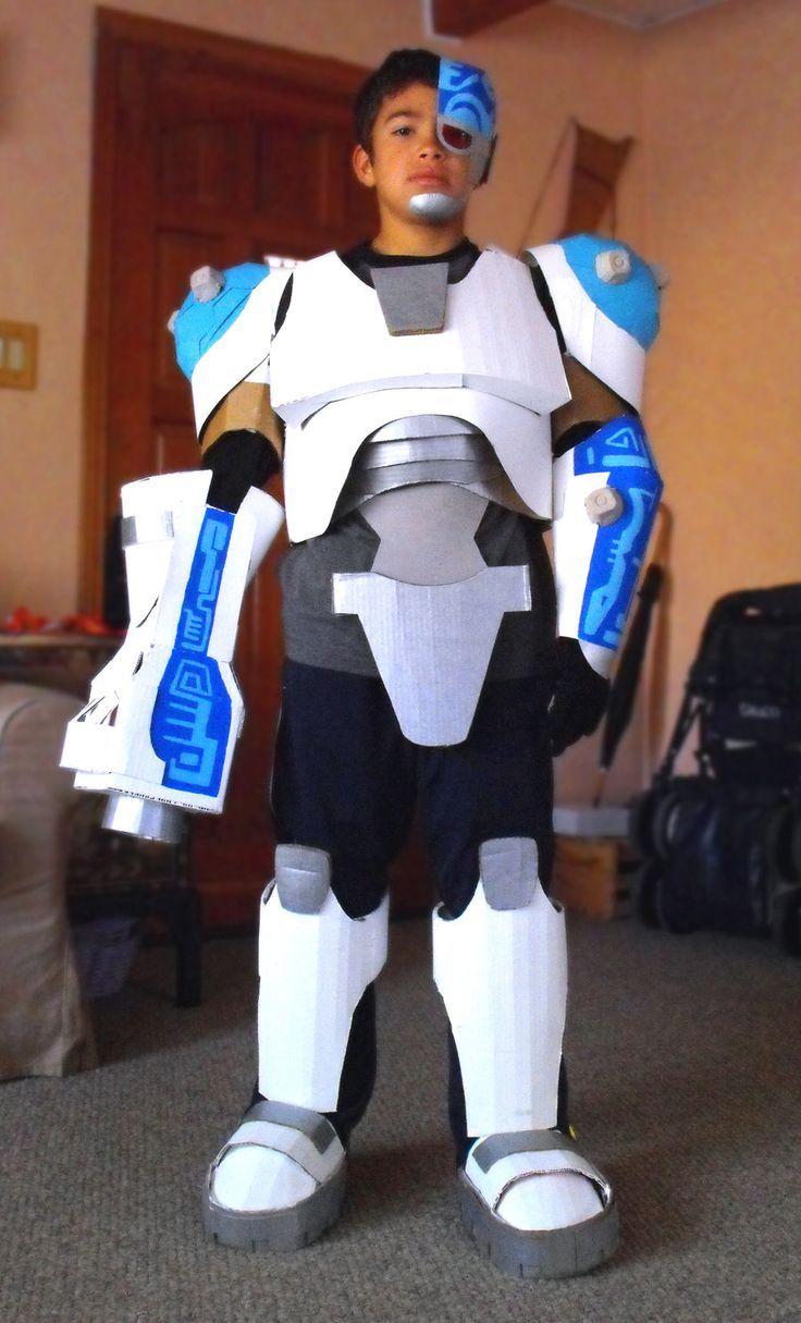 Cyborg  Halloween Teen Titans-8098