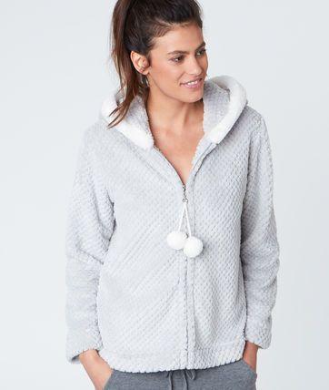Poney Faux Fur Pyjama Jacket