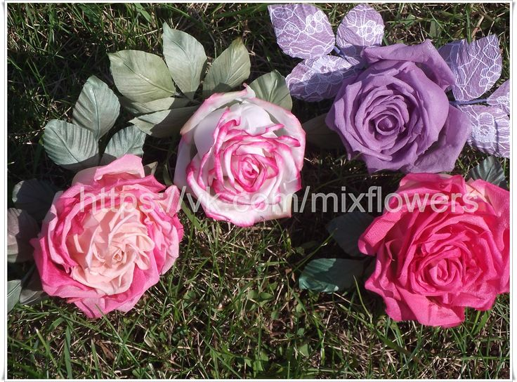Silk roses. Brooch or hair decoration In Stock • $50 http://mix-flowers.ru