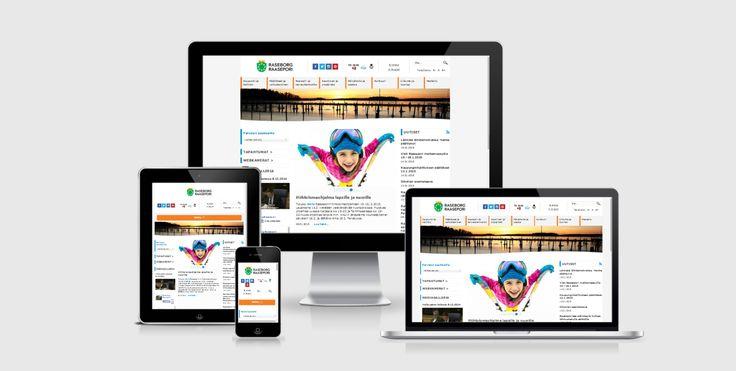 Website update / redesign - City of Raasepori - By Pennanen Design