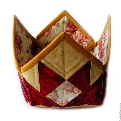 Кухня ручной работы. Ярмарка Мастеров - ручная работа. Купить Корзинка для хлеба. Handmade. Бордовый, подарок женщине, подарок на новоселье