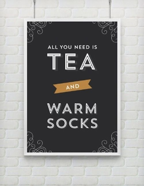 Keep this important reminder nearby. Fantastic things to make tea time even better!!