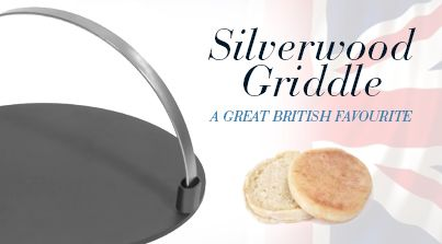 20% OFF Silverwood Griddle - A Great British Favourite