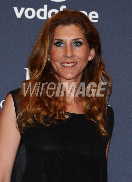 Monica Seles arrives at the...