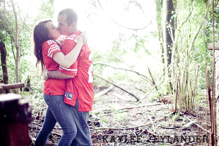 49ers wedding | Granite Falls Engagement Session | Danielle & Jason and…Gloria, the ...