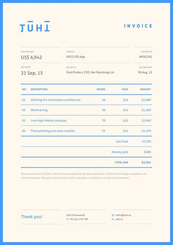 Best Design  Invoice Images On   Graphics Invoice