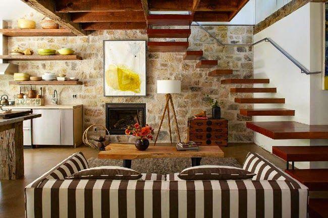 Siempre guapa con norma cano como decorar una casa de for Como decorar una casa rustica