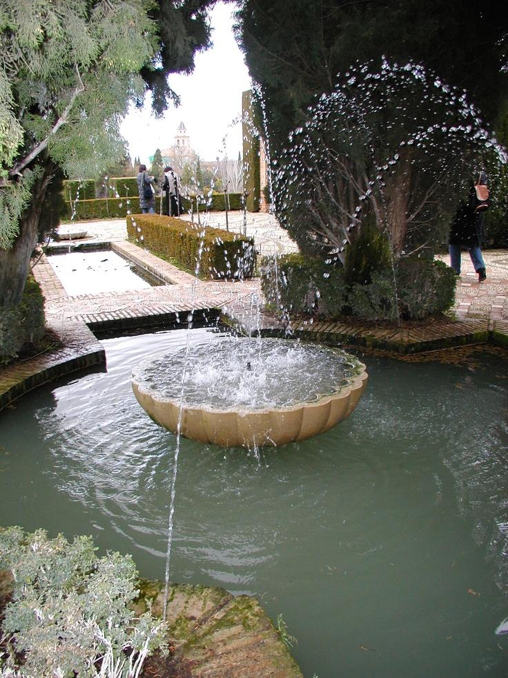 Fuente  Generalife 2003. Garden FountainsWater ...