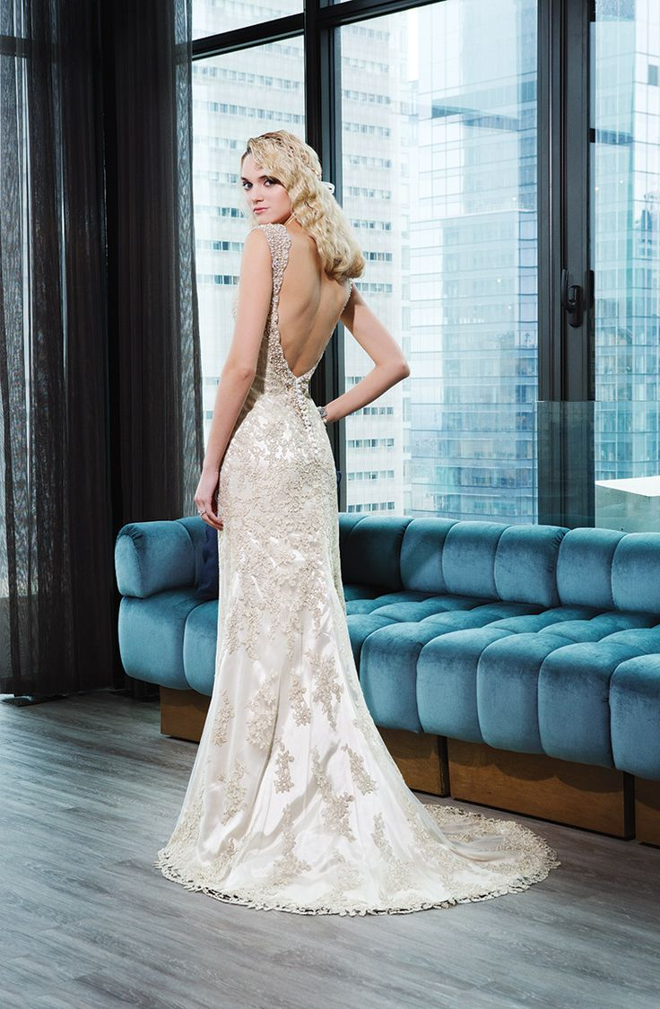 58 best Collections 2015 images on Pinterest | Short wedding gowns ...