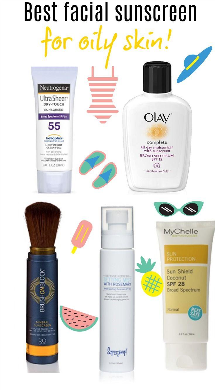 Best Facial Sunscreen For Oily Skin Best Facial Sunscreen