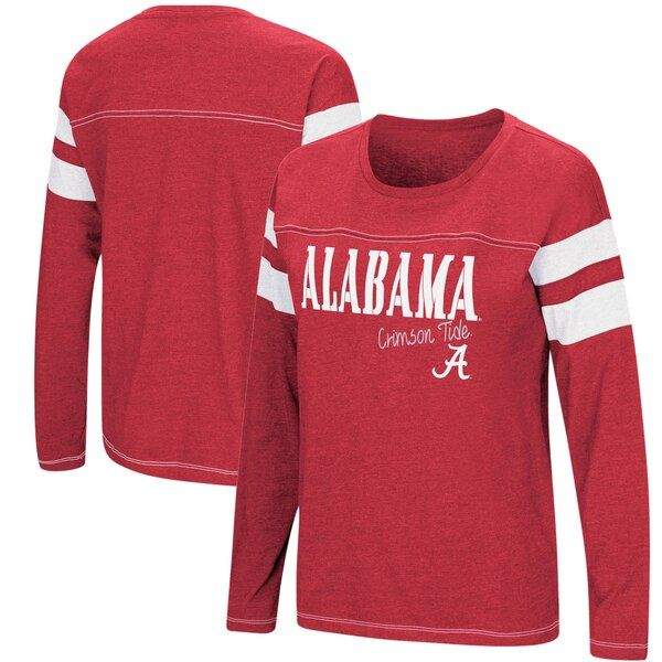 Alabama Crimson Tide Colosseum Women S Game Of My Life Dolman Long Sleeve T Shirt Crimson Alabamacrimsont Alabama Shirts Alabama Crimson Tide Alabama Crimson