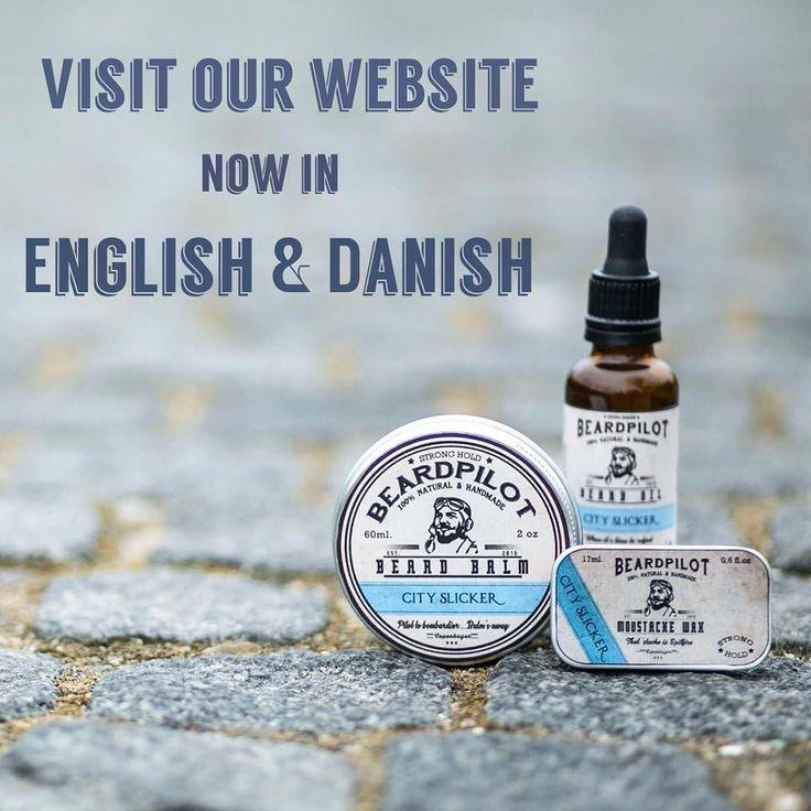 Nu er vores hjemmeside kommet på #dansk . Så kom fobi og se vores udvalg af #håndlavede #naturlige #skægprodukter . #skæg #skægbalm #skægolie #skægvoks #overskæg #danmark #denmark #copenhagen #københavn #amager #handmade #natural #beardpilot #beardproducts #beardgrooming #mensgroomingproducts by the_beardpilot
