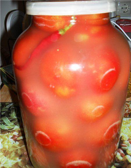 БЛОГ ПОЛЕЗНЫХ СОВЕТОВ: Солёные помидоры как из бочки (газированные, без уксуса)