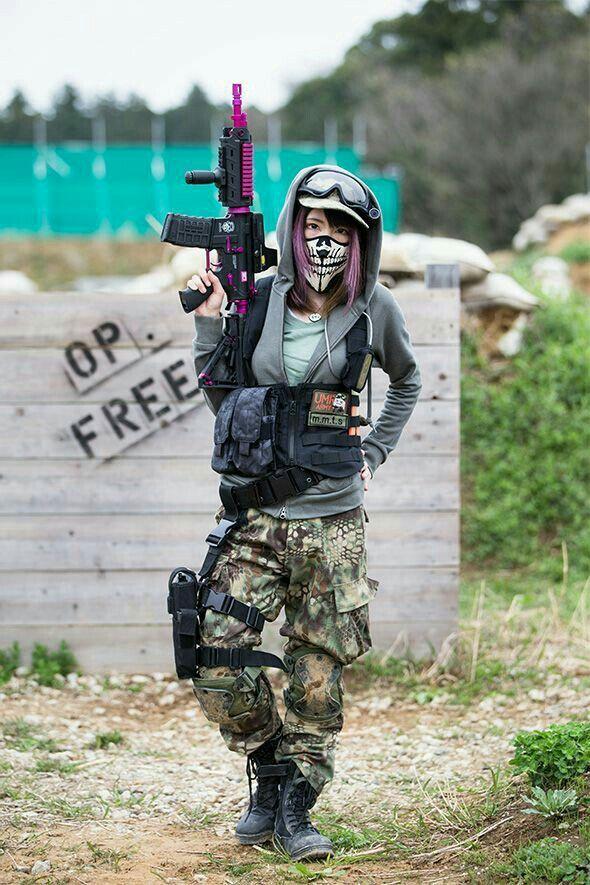 PUBG MOBILE INDIA in 2021 Girl guns, Military girl