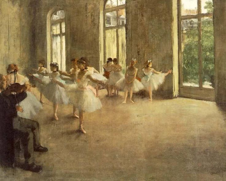 One of my favorites by Degas. I absolutely love the ballerina paintings.