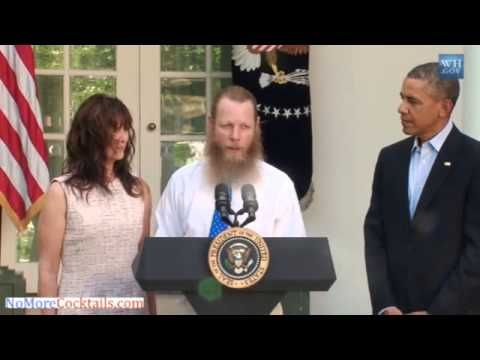 """What none of the media is reporting is that SGT Bowe Bergdahl's father's first words at the WH were in Arabic – ""bism allah alrahman alraheem"" – which means ""in the name of Allah the most gracious and most merciful"" – these are the opening words of every chapter of the Qur'an except one (the chapter of the sword – the 9th) – by uttering these words on the grounds of the WH, Bergdahl (the father) sanctified the WH and claimed it for Islam. There is no question but POTUS knows this."""