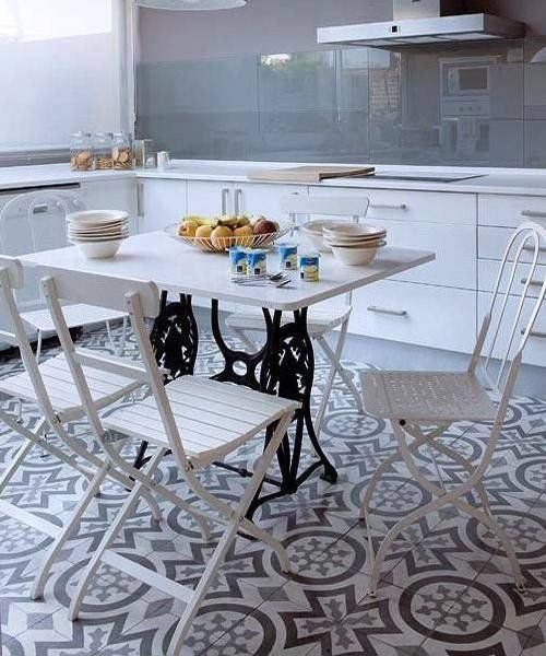 25 Dining Tables, Ktchen Islands and Office Desks Recycling Vintage Sewing Machines – Lushome