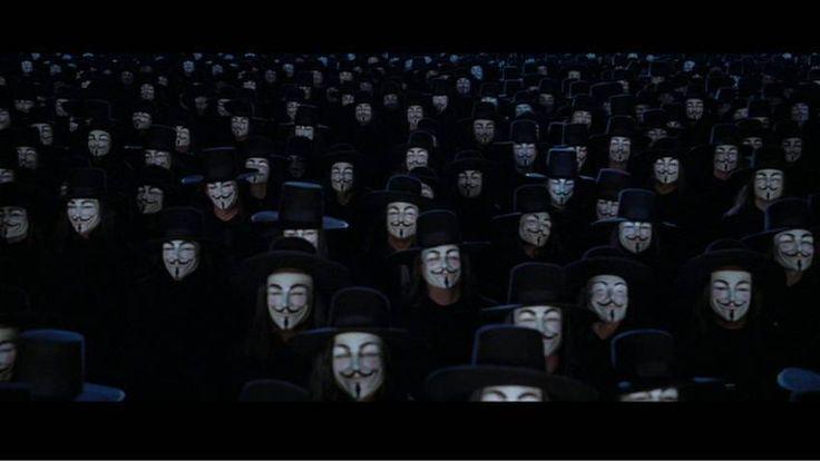 PROTEST: James McTeigue dir., V for Vendetta (2005)