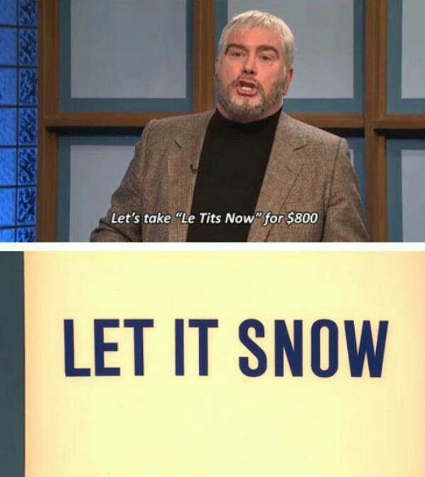 SNL Jeopardy skits are hilarious!