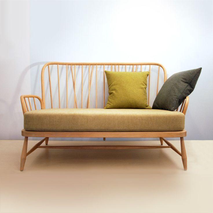 Ercol Jubilee two-seater sofa